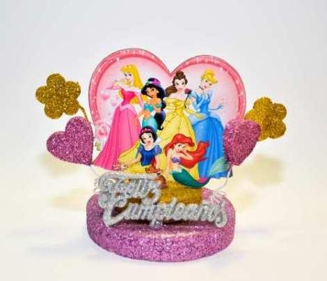 Adorno Torta Princesas
