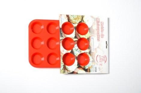 Molde Silicona para Cupcakes N*8