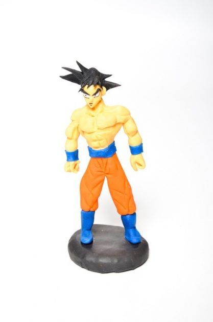 Goku Morocho Dragon Ball