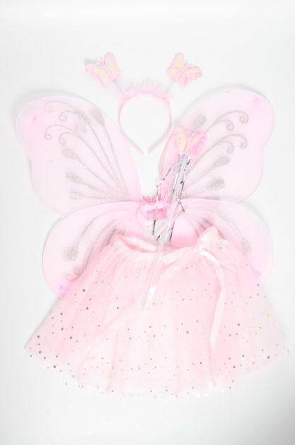 Set Mariposa Rosa