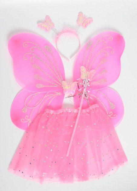 Set Mariposa Fucsia