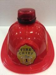 Sombrero bombero con luz y sonido