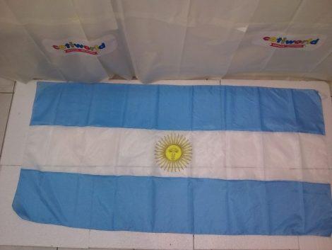 Bandera de Argentina con sol