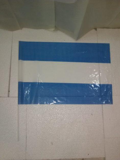 Bandera mediana de mano Argentina