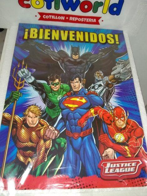 Afiche Liga de la Justicia