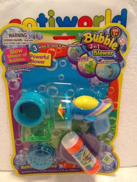 """Burbujeros ventilador 3 en 1 """"Bubble Blower"""""""