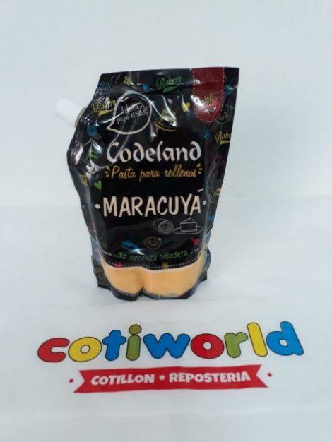 Pasta para relleno Codeland sabor: Maracuya