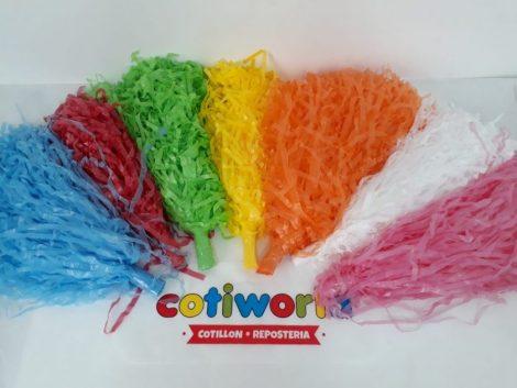 Porrones de seda de colores x unidad