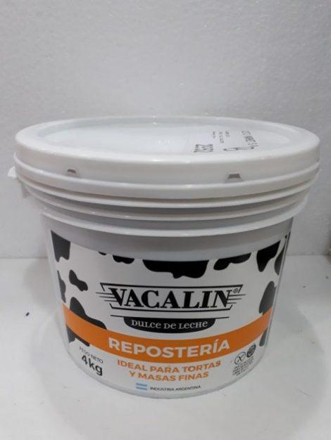Dulce de leche Vacalin x4kg.