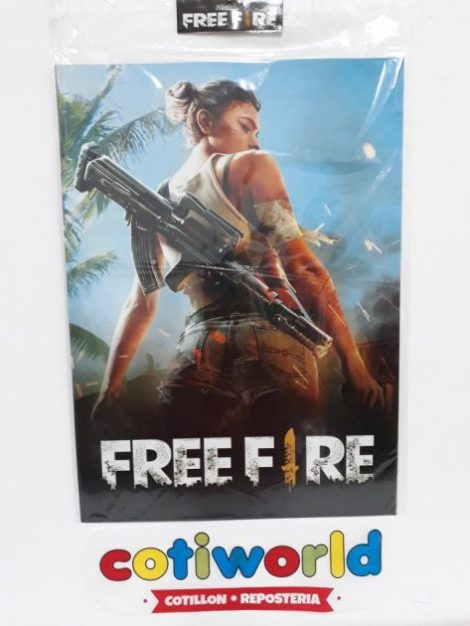 Afiche de Free Fire