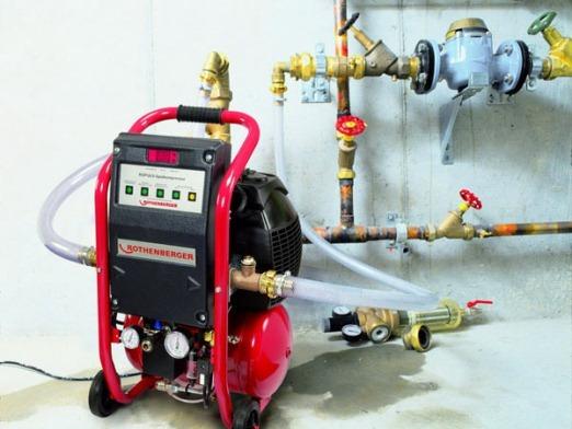 спецоборудование для промывки системы отопления