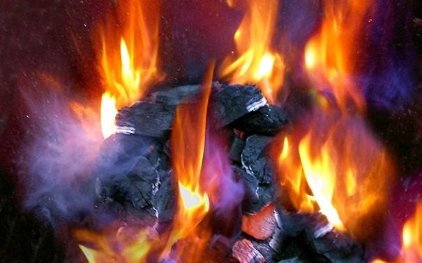 уровень теплоотдачи твердого топлива при сгорании