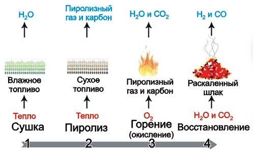 процесс разложения древесины
