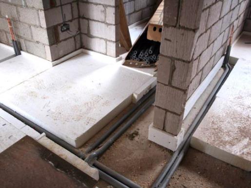 утепление бетонных полов вспененными полимерами