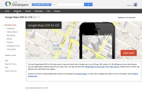 Google Maps SDK for iOS