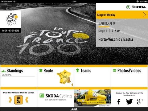Tour de France 2013 iPad App