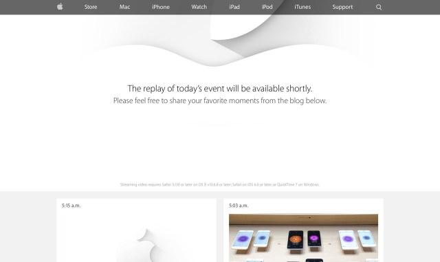 Apple Live - September 2014