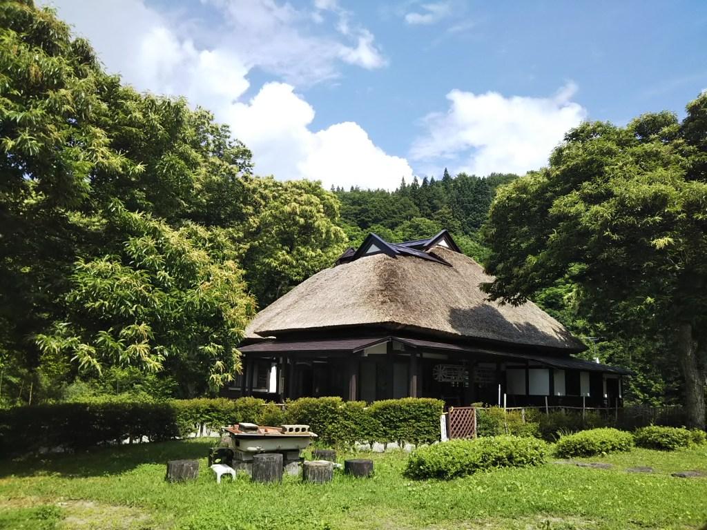 秋田県五城目町の農家レストラン清流の森