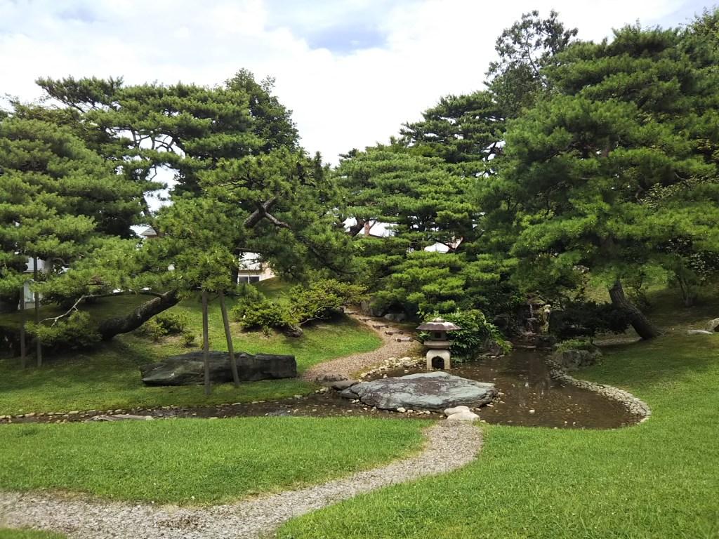 秋田市如斯亭庭園