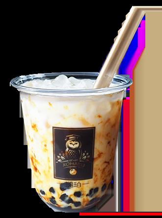 タピオカ専門店琥珀黒糖パールミルク