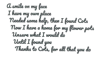 A poem from a client