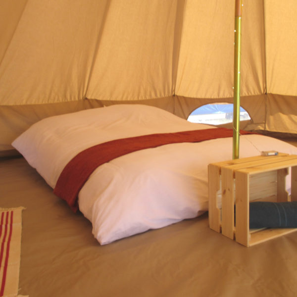 Cotswold Tipis Bell Tent interior view close up