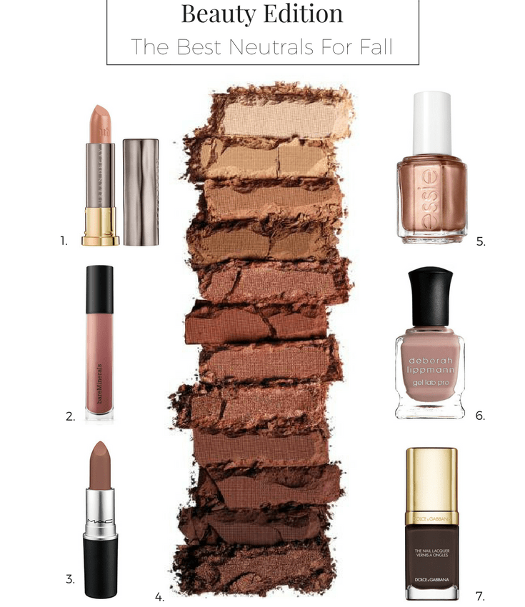 Beauty Neutrals for Fall