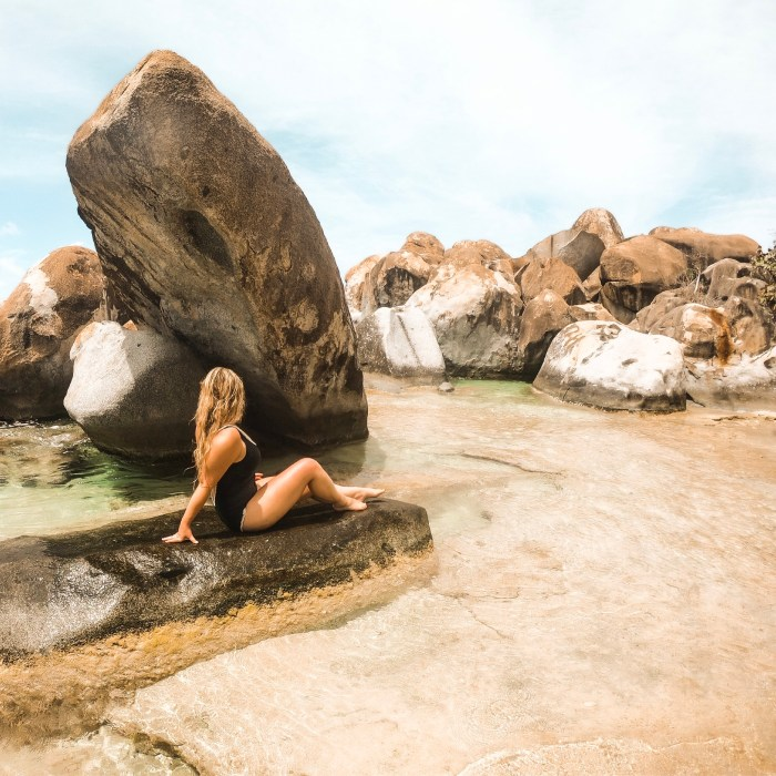 Granite Boulders in Virgin Gorda