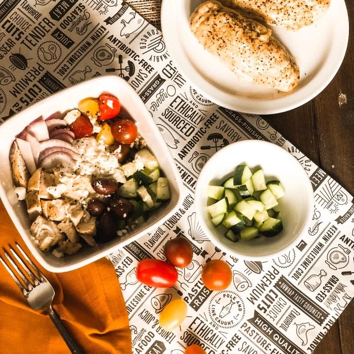 yummy greek bowls