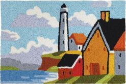jellybean rug lighthouse bluff design