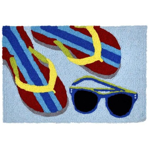 jellybean rug beach accents