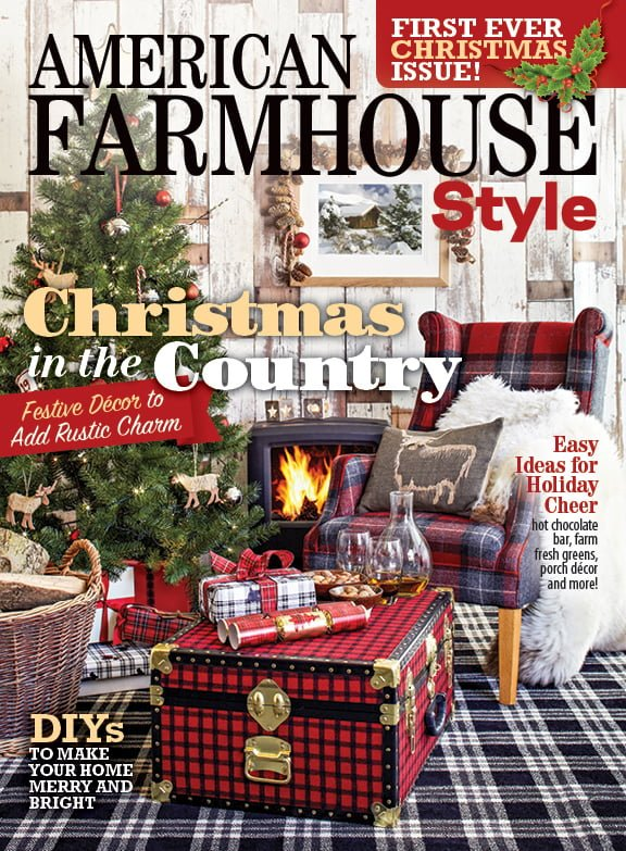 American Farmhouse Style Magazine Feature Cottage At The