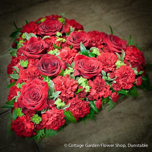 Rose & Carnation Heart