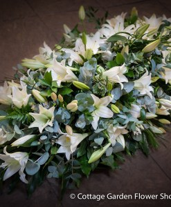 Mixed Lily Casket Spray