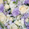 Lilac & Cream Pastel Heart Detail