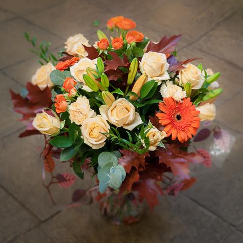 Mixed Autumnal Vase