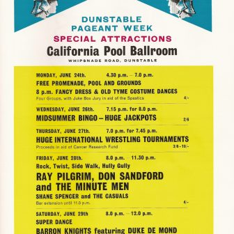 California Pool Ballroom, Dunstable