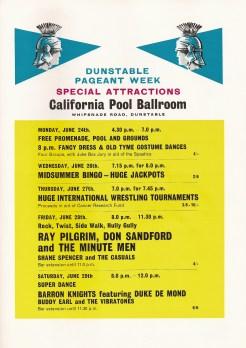 California Pool Ballroom, Dunstable
