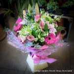 Pink & Lime Hand Tied