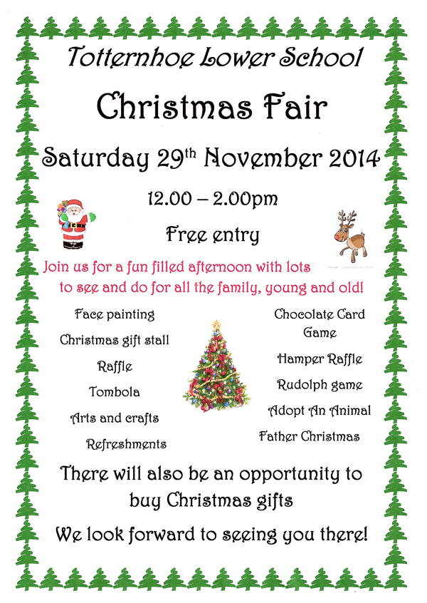 Totternhoe Lower School Christmas Fair