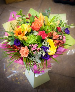 Vibrant Delight Hand Tied