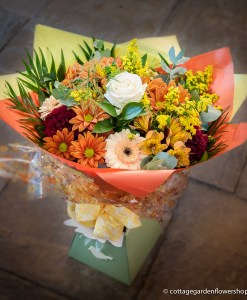 Autumn Gift Hand Tied