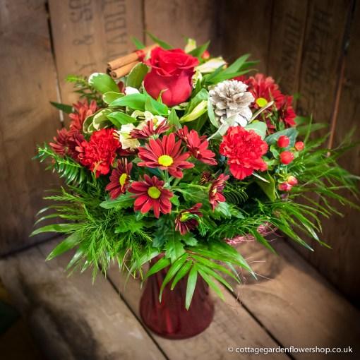 Christmas Cheer Vase
