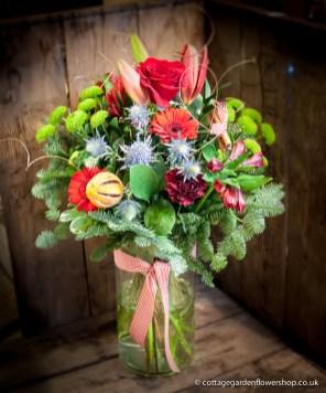 Luxury Christmas Vase