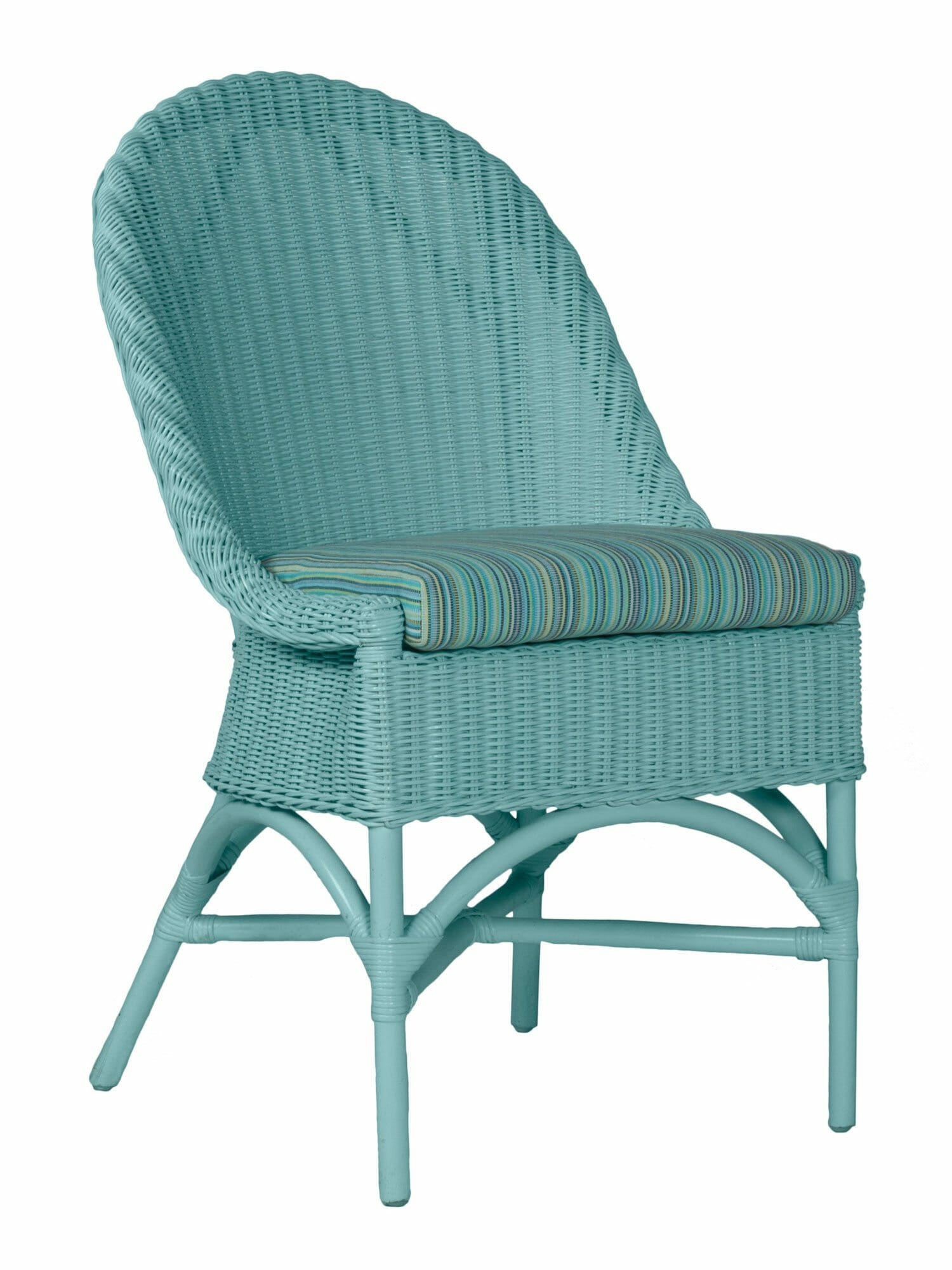 West Palm Wicker Dining Side Chair
