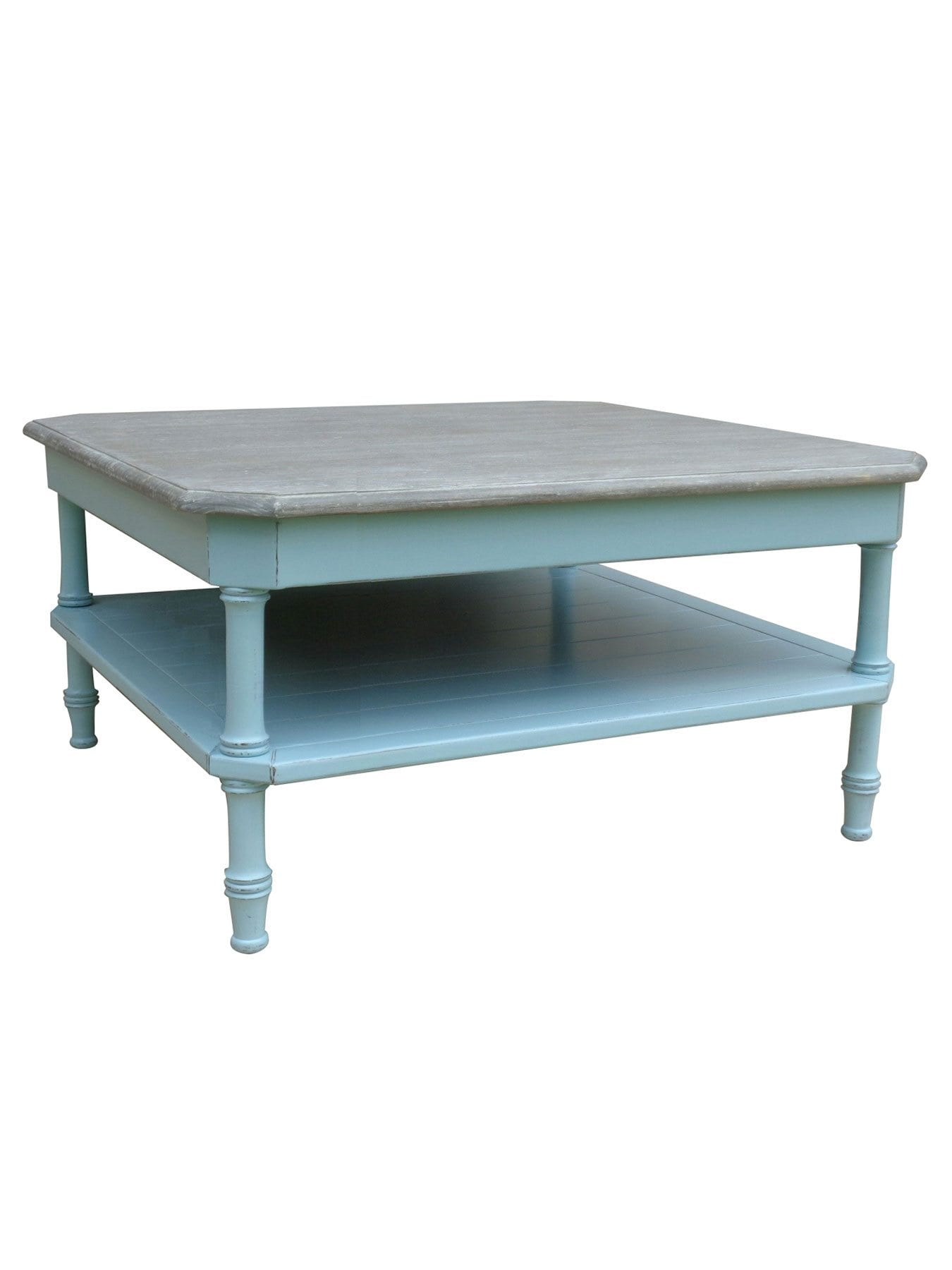 colonial square coffee table