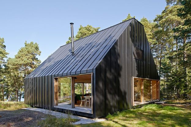 Minimalist Design Meets Maximalist Style In This Barn