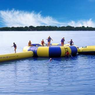 Water Trampoline With Springs
