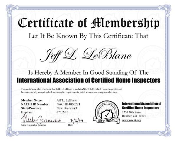 About Jeff Leblanc Home Inspection