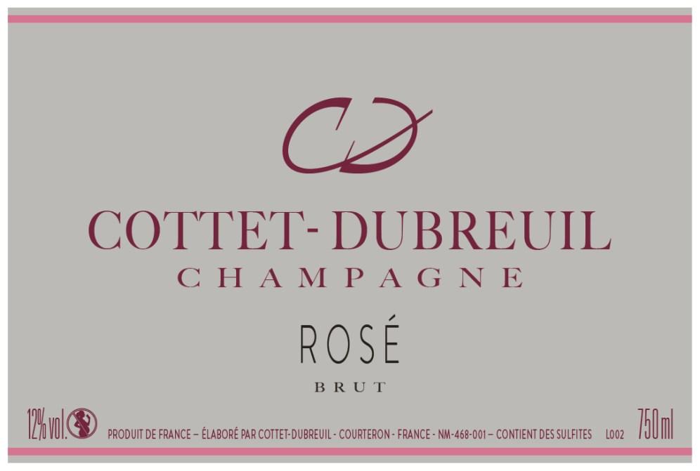 Etiquette Brut Rosé